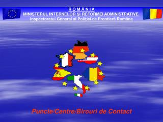 Puncte/Centre/Birouri de Contact