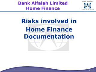 Bank  Alfalah  Limited Home Finance