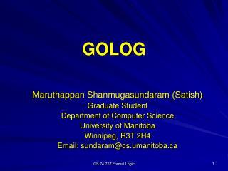 GOLOG