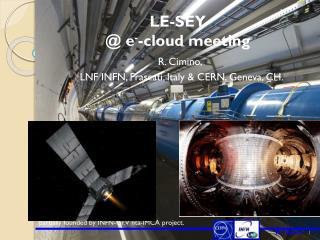 LE-SEY @ e - -cloud meeting