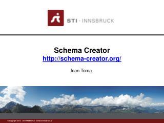 Schema Creator schema-creator/