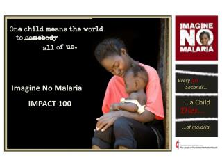 Imagine No Malaria IMPACT 100