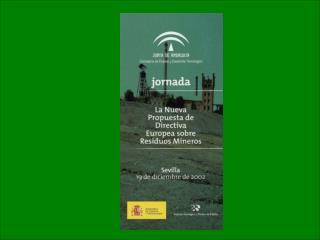Datos del Inventario Nacional de Balsas y Escombreras (1983-1988)