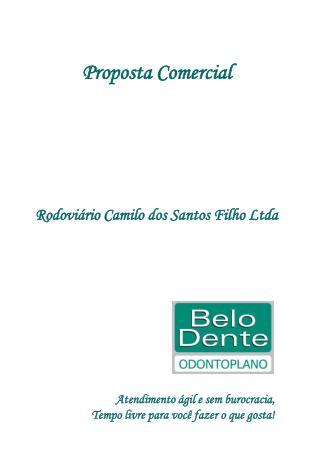 Proposta Comercial Rodoviário Camilo dos Santos Filho Ltda