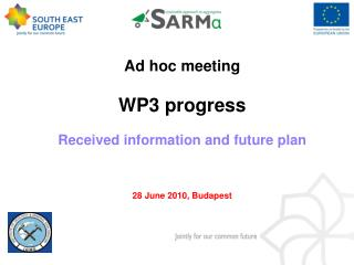 Ad hoc meeting WP3 progress Received information and future plan 28 June 2010, Budapest
