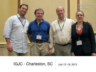 IGJC - Charleston, SC