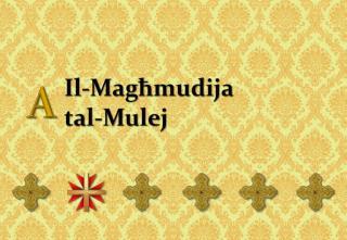 Il-Magħmudija  tal-Mulej