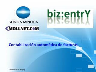 Contabilización automática de facturas .