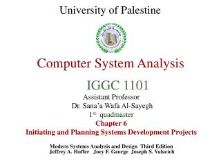Computer System Analysis