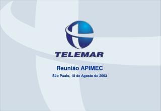 Reunião APIMEC São Paulo, 18 de Agosto de 2003