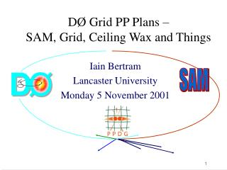 DØ Grid PP Plans – SAM, Grid, Ceiling Wax and Things
