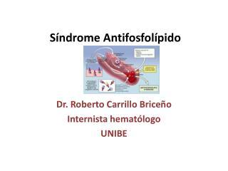 Síndrome  Antifosfolípido