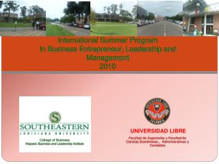 College of Business Hispanic Business and Leadership Institute