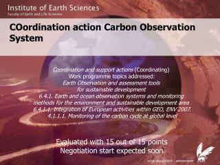 COordination action Carbon Observation System