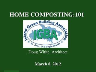 HOME COMPOSTING:101