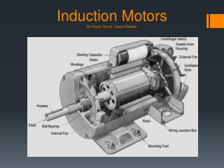 Induction Motors By Kevin  Tesch , Jason  Brosler
