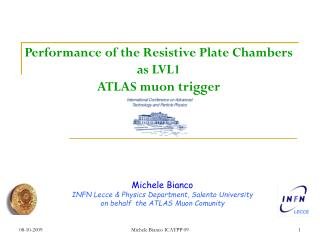 Performance of the Resistive Plate Chambers as LVL1 ATLAS muon trigger