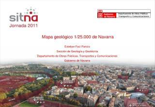 Mapa geológico 1/25.000 de Navarra