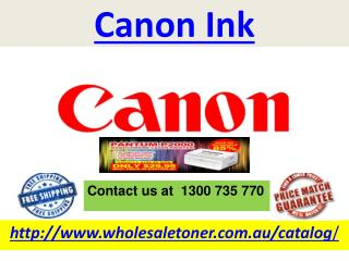 Canon Ink
