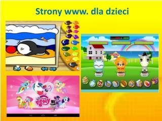 Strony  www .  d la dzieci