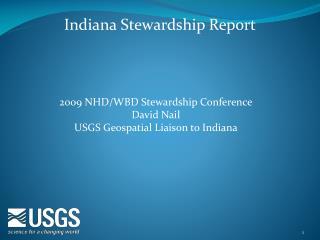 Indiana Stewardship Report