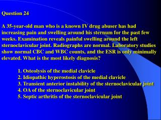 Answer: 5Clarke