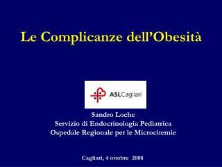 Le Complicanze dell'Obesità
