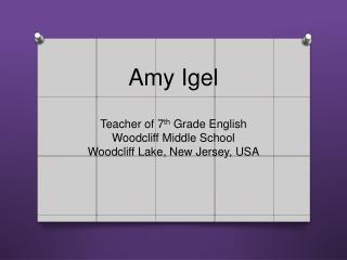 Amy Igel