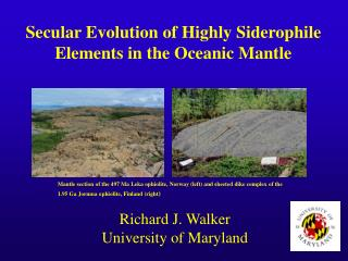Secular Evolution of Highly Siderophile Elements in the Oceanic Mantle