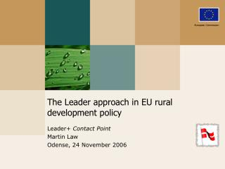 The Leader approach in EU rural development policy