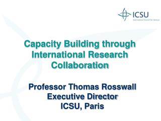 Capacity Building through International Research Collaboration