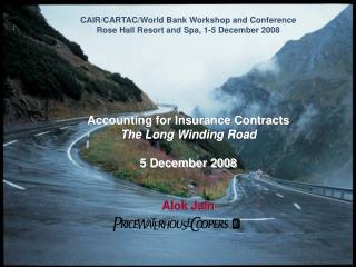CAIR/CARTAC/World Bank Workshop and Conference Rose Hall Resort and Spa, 1-5 December 2008