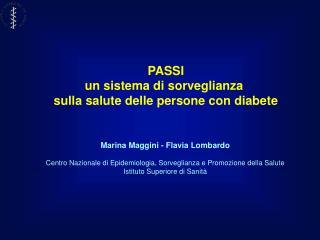 Marina Maggini - Flavia Lombardo