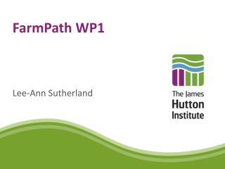 FarmPath  WP1