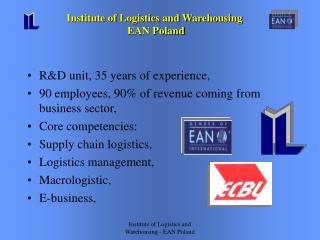 R&D unit, 35 years of experience, 90 employees, 90% of revenue coming from business sector,