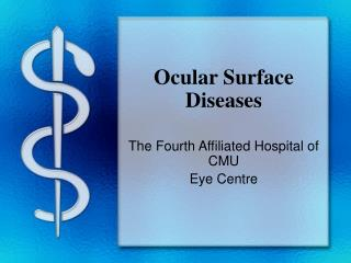 Ocular Surface Diseases