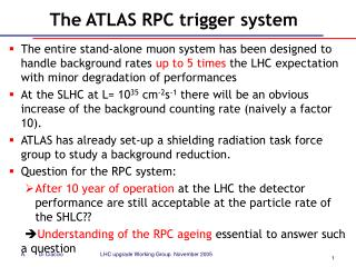 The ATLAS RPC trigger system