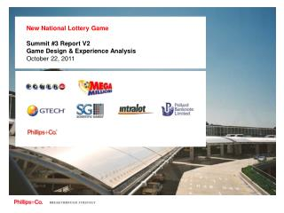 New National Lottery Game Summit #3 Report V2 Game Design & Experience Analysis October 22, 2011