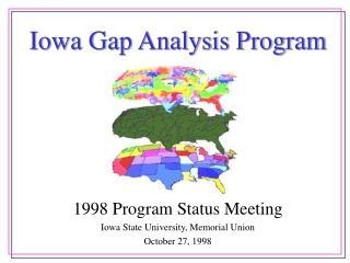 Iowa Gap Analysis Program
