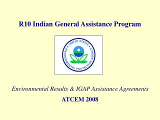 R10 Indian General Assistance Program