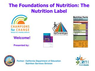 The Foundations of Nutrition: The Nutrition Label