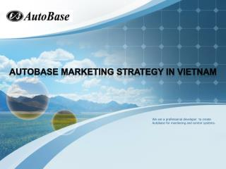 AutoBase  marketing strategy in Vietnam