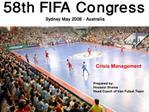 Prepared by: Hossein Shams Head Coach of Iran Futsal Team