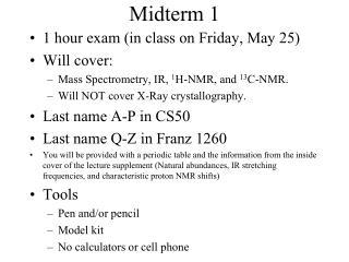 Midterm 1