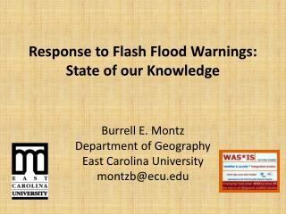 Response to Flash Flood Warnings: State of our Knowledge