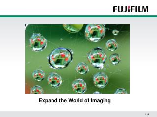 Expand the World of Imaging