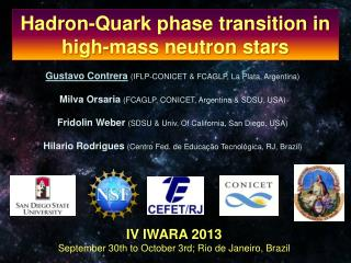 Hadron-Quark phase transition in high-mass neutron stars