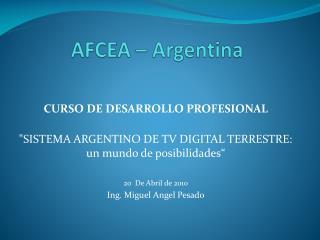 AFCEA – Argentina