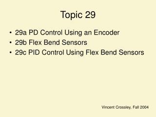 Topic 29