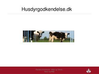 Husdyrgodkendelse.dk